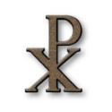 Picture of Letters for gravestones. Pax Romano. Glitter bronze