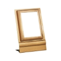 Picture of Rectangular photo frame - Ground mounting - Olpe line - Bronze