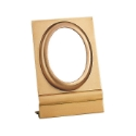 Picture of Oval photo frame - Ground mounting - Olpe line - Bronze