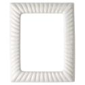 Immagine di Cornice porta-foto rettangolare - Linea Impero - Bianco - Porcellana