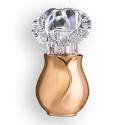 Immagine di Lampada votiva per lapidi - Linea Apulo - Bronzo lucido - Con cristallo a cuore