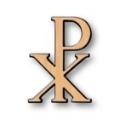 Изображение Символы для надгробий. Pax Римская полированный